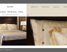 Laurel Sprigg Fine Sewing for Interiors
