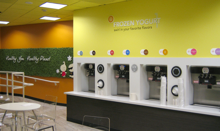 Yoppi Frozen Yogurt